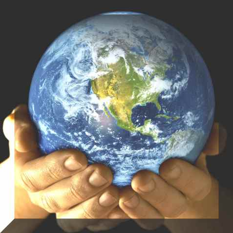 The future of our earth is in our hands.